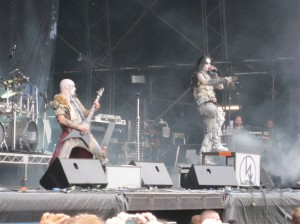 Dimmu Borgir in Melbourne