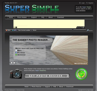 Super Simple - Photo Resizer