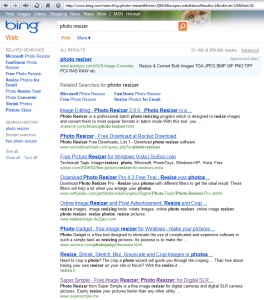 Bing photo resizer 56  first click