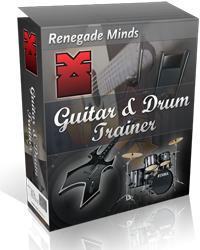 Slow down music with Guitar & Drum Trainer