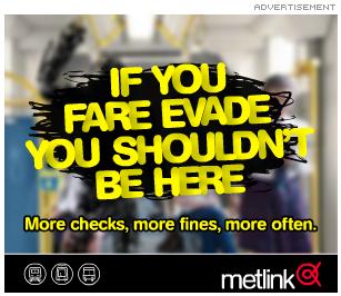 Melbourne Metlink ad