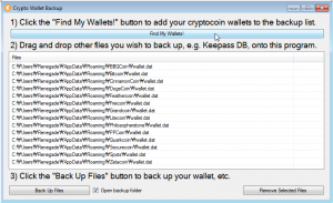 Crypto Wallet Backup wallet list